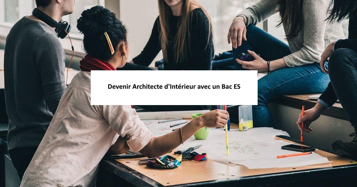 architecte avec bac es